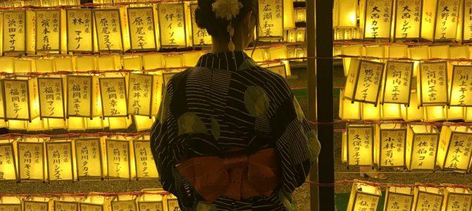 先日のお祭り⛩ 大塚未緒