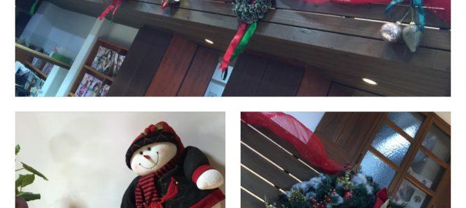 クリスマス飾り出揃いました〜!!